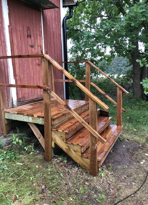 Uudet portaat vanhaan aittaan